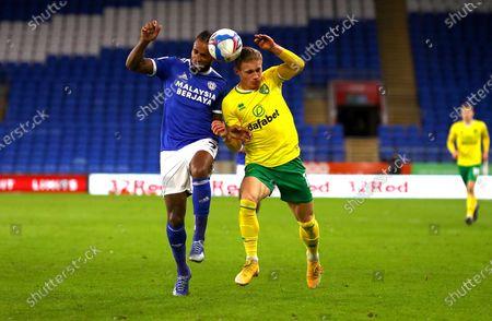 Editorial photo of Cardiff City v Norwich City, EFL Sky Bet Championship, Football, The Cardiff City Stadium, Cardiff, UK - 16 Jan 2021