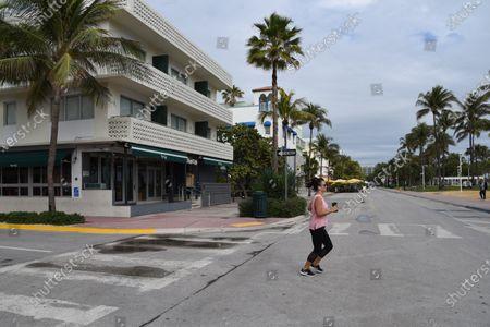 "Editorial image of Gianni Versace's favorite restaurant has closed ""temporarily"", Miami, Florida, USA - 14 Jan 2021"