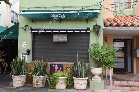"""Editorial picture of Gianni Versace's favorite restaurant has closed """"temporarily"""", Miami, Florida, USA - 14 Jan 2021"""