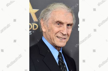 """Stock Photo of Peter Mark Richman arrives at the Hollywood Film Awards in Beverly Hills, Calif. Richman, a character actor who appeared in hundreds of television episodes and had recurring roles on """"Three's Company"""" and """"Beverly Hills 90210,"""" has died. He was 93. Richman died, at his home in Los Angeles of natural causes, publicist Harlan Boll announced"""