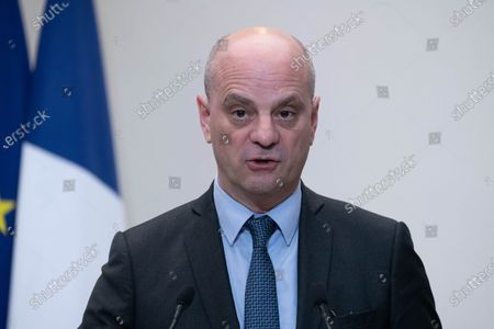 French Education, Youth and Sports Minister Jean-Michel Blanquer.