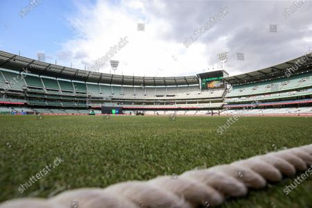 General view of the MCG during the Melbourne Stars vs Adelaide Strikers T20 Big Bash league match at Melbourne Cricket Ground, Melbourne
