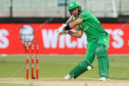 Glenn Maxwell of the Melbourne Stars bats during the Melbourne Stars vs Adelaide Strikers T20 Big Bash league match at Melbourne Cricket Ground, Melbourne