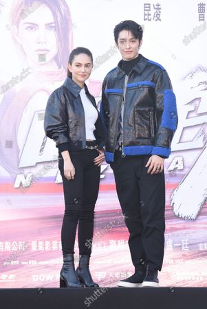 Jay Chou and Hannah Quinlivan