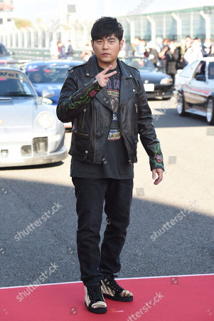 Editorial photo of 'Nezha' film premiere, Taichung Libao International Circuit, Taipei, Taiwan, China - 14 Jan 2021