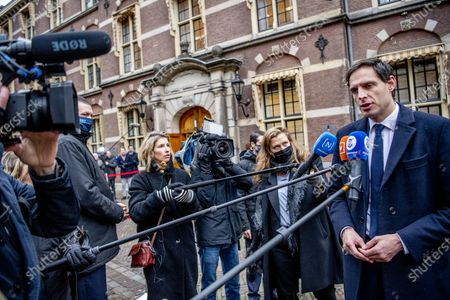 Editorial image of Council of ministers at the Binnenhof, The Hague, The Netherlands - 15 Jan 2021