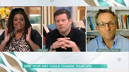 Alison Hammond, Dermot O'Leary and Dr Michael Mosley