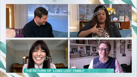 Dermot O'Leary, Alison Hammond, Nicky Campbell and Davina McCall
