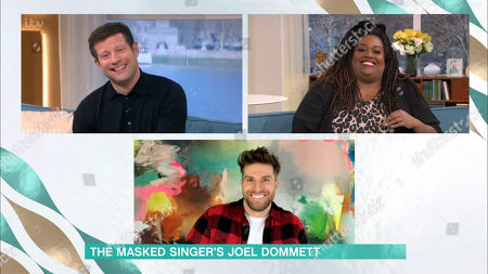 Stock Picture of Dermot O'Leary, Alison Hammond and Joel Dommett