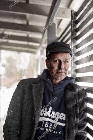 Swedish writer John Ajvide Lindqvist