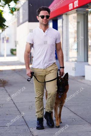 Sasha Farber with dog