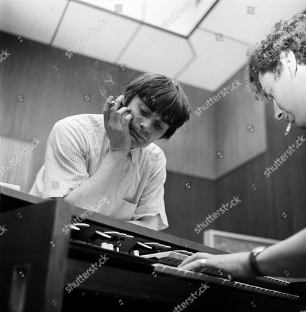 Editorial picture of Jimmy Nicol at Pye Recording Studios - 1965