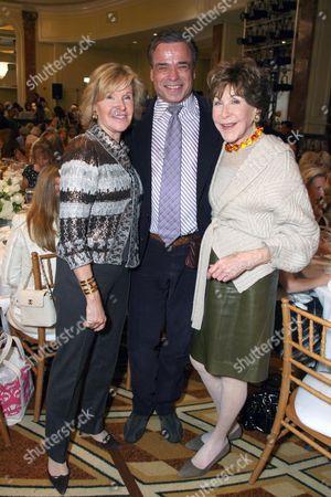 Jane Eisner, Boaz Mazor and Betsy Bloomingdale