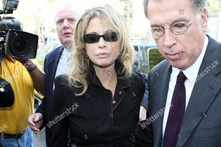 Diandra Douglas arriving at court