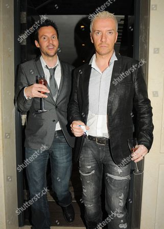 Editorial image of Lisa Byrne's 40th birthday party, London, Britain - 20 Apr 2010