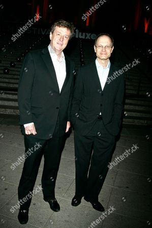 David Hyde Pierce and boyfriend Brian Hargrove