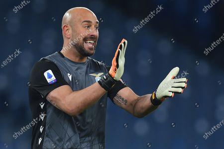 Pepe Reina of Lazio
