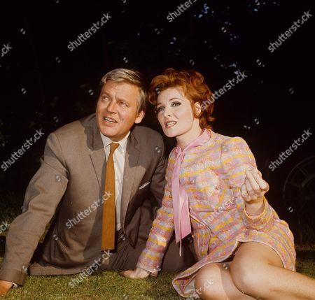 Jack Watling and Adrienne Corri