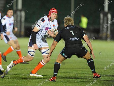 Grant Gilchrist - Edinburgh Rugby lock.
