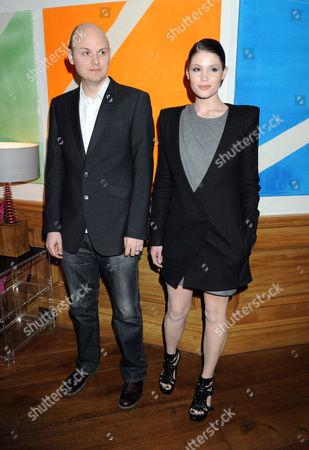 Gemma Arterton and director J Blakeson