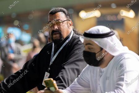 Stock Picture of Steven Seagal, Dubai, UAE