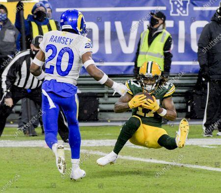 Editorial photo of Los Angeles Rams v Green Bay Packers, Green Bay, Wisconsin, USA - 16 Jan 2021