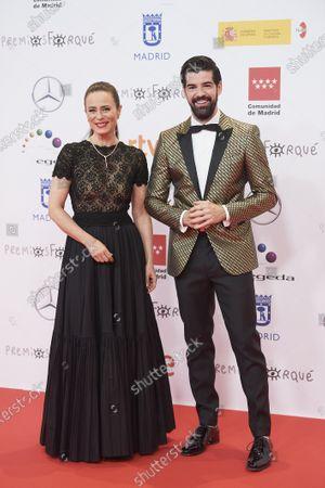Aitana Sánchez-Gijón and Miguel Angel Munoz