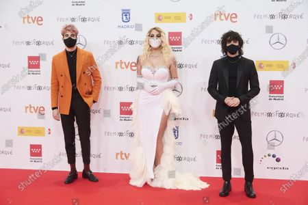 Editorial picture of 26th Jose Maria Forque Awards, Arrivals, Madrid, Spain - 16 Jan 2021