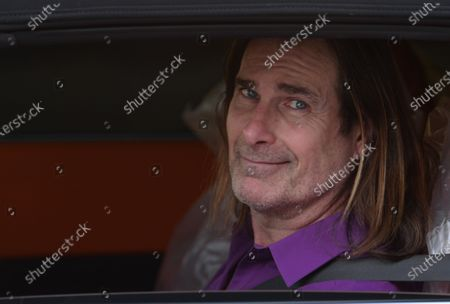 Editorial image of Exclusive - Fabio Lanzoni out and about, Los Angeles, California, USA - 16 Jan 2021