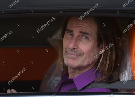 Editorial photo of Exclusive - Fabio Lanzoni out and about, Los Angeles, California, USA - 16 Jan 2021