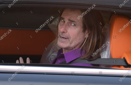 Editorial picture of Exclusive - Fabio Lanzoni out and about, Los Angeles, California, USA - 16 Jan 2021