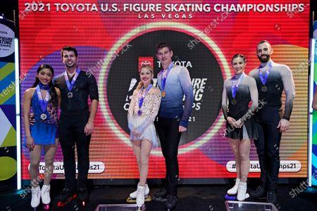 Editorial image of US Championships Figure Skating, Las Vegas, United States - 16 Jan 2021