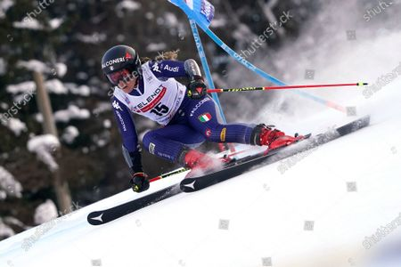 Editorial image of Alpine Skiing World Cup, Kranjska Gora, Slovenia - 17 Jan 2021