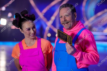 Editorial photo of 'Dancing On Ice' TV show, Series 13, Episode 1, Hertfordshire, UK - 17 Jan 2021