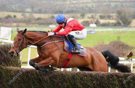 Editorial photo of Punchestown Racing, Punchestown Racecourse, Naas, Co. Kildare - 17 Jan 2021