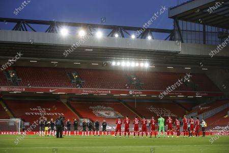 Editorial photo of Liverpool FC vs Manchester United, United Kingdom - 17 Jan 2021
