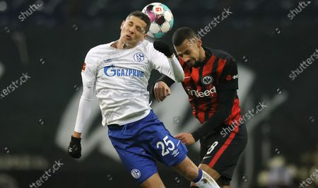Editorial picture of Eintracht Frankfurt vs FC Schalke 04, Germany - 17 Jan 2021