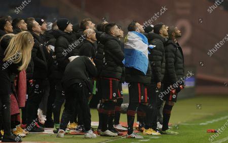 Editorial image of Eintracht Frankfurt vs FC Schalke 04, Germany - 17 Jan 2021