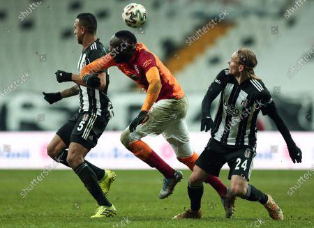 Editorial picture of Besiktas vs Galatasaray, Istanbul, Turkey - 17 Jan 2021