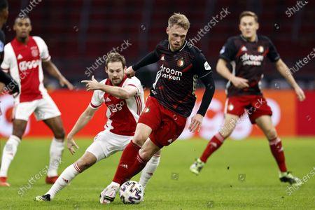 Editorial picture of Ajax vs Feyenoord, Amsterdam, Netherlands - 17 Jan 2021