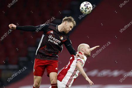 Editorial image of Ajax vs Feyenoord, Amsterdam, Netherlands - 17 Jan 2021