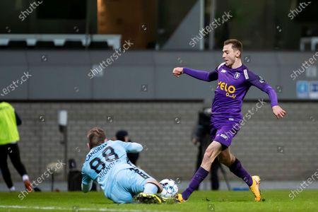 Editorial photo of Soccer Jpl D20 Beerschot Va Vs Club Brugge, Antwerp, Belgium - 17 Jan 2021