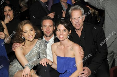 Jennifer Lopez, Alex O'Loughlin, Kate Angelo and Steve Tisch