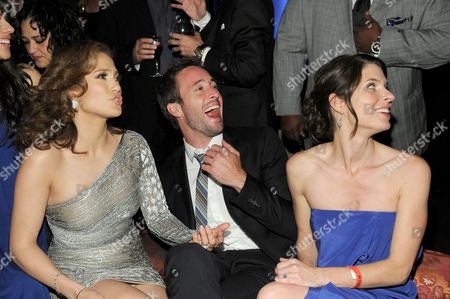 Stock Image of Jennifer Lopez, Alex O'Loughlin and Kate Angelo