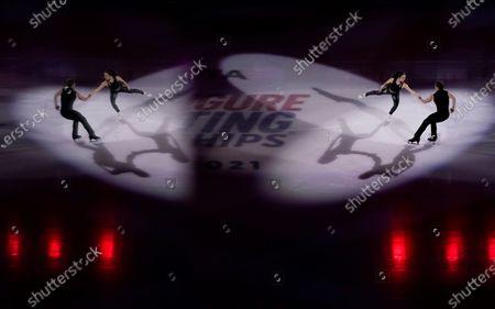 Editorial image of US Championships Figure Skating, Las Vegas, United States - 17 Jan 2021