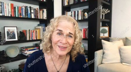 "American singer-songwriter Carole King sings and performs ""You've Got a Friend""."
