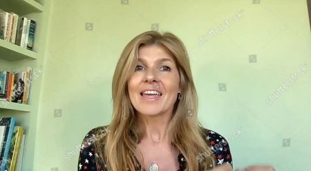Stock Picture of American actress Connie Britton speaks during the We The People Concert.