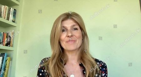 American actress Connie Britton speaks during the We The People Concert.