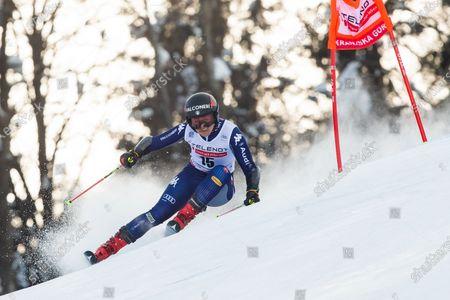 Editorial photo of 57th Golden Fox, Audi FIS Ski World Cup 2020/21, Ladies' Giant Slalom, Kranjska Gora, Slovenia - 17 Jan 2021