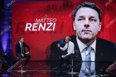 Editorial image of 'Non e l'Arena' TV show, Rome, Italy - 17 Jan 2021